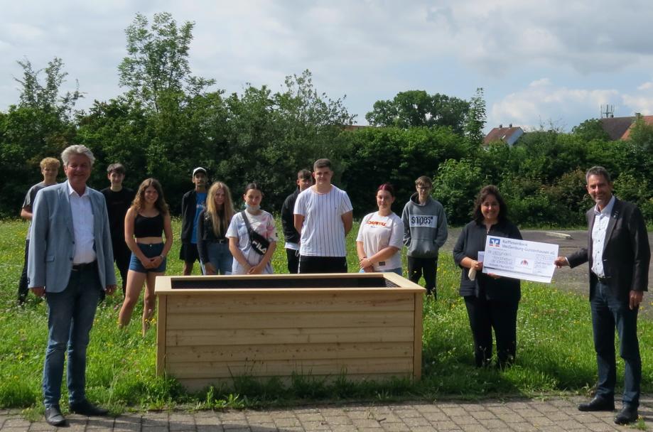 Spende für die Mittelschule Graefensteinberg
